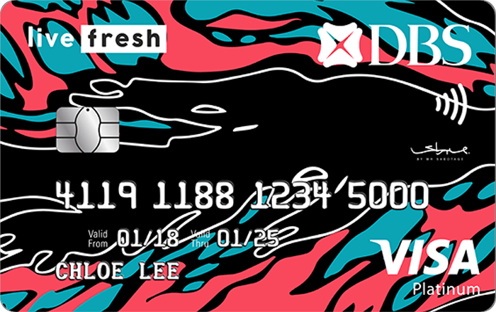 DBS Live Fresh Student Card | The Best Credit Cards for Women in Singapore | magazine.vaniday.com