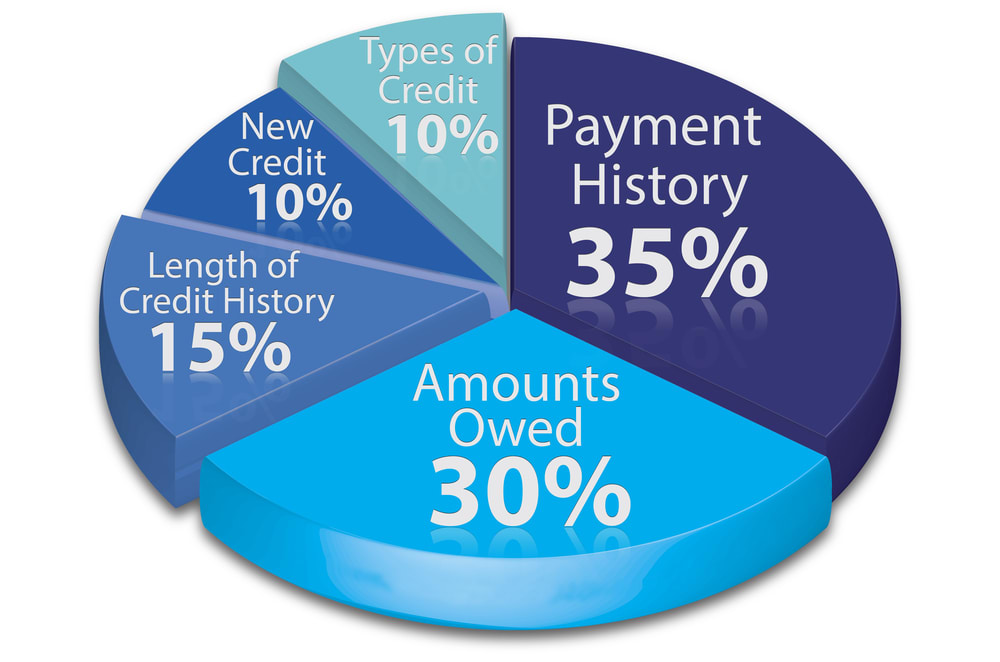 components of credit score