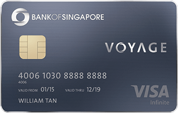 OCBC Voyage Card: Most Flexible Miles Redemption - Credit