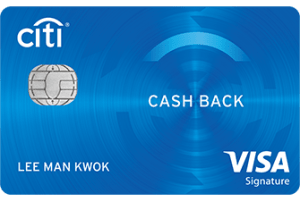 Citi Cash Back Card Image