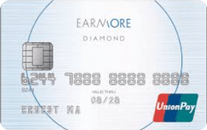 EarnMORE UnionPay Diamond Card Image