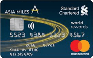 Standard Chartered Asia Miles Mastercard Image