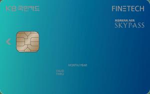 KB국민 FINETECH 카드 Image