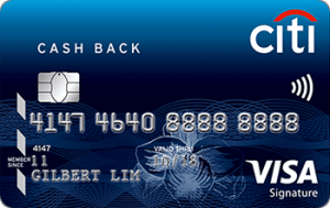 Citi Cash Back Image