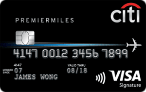 Citi PremierMiles Visa Image