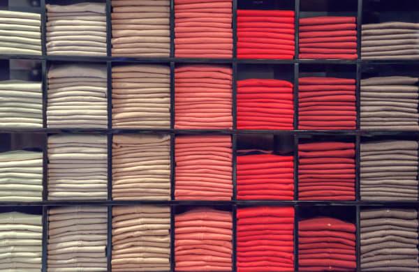 일본산 대체품을 찾을 수 있는 상품 두 번째, 패스트패션 및 스파 의류