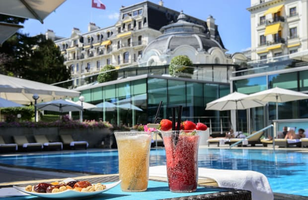 Beau-Rivage Palace in Lausanne