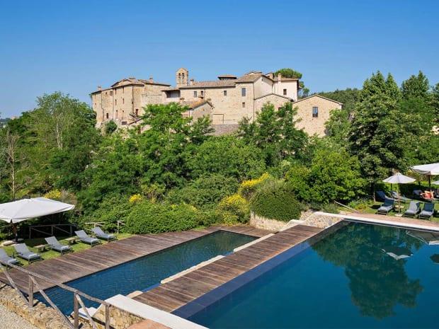 Castel Monastero in Italy