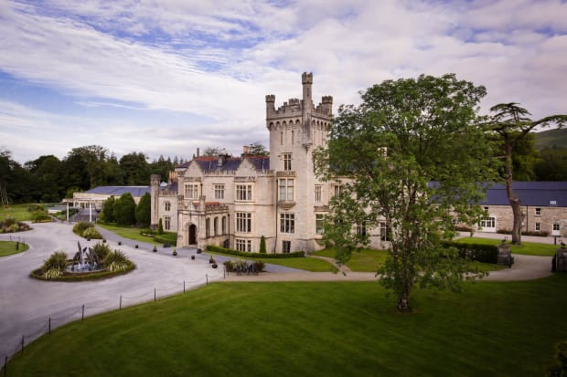 Lough Eske Castle in Ireland
