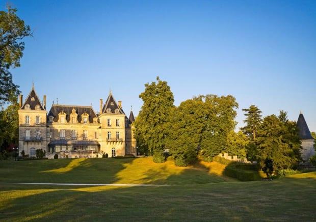 Château de Mirambeau in Bordeaux, France