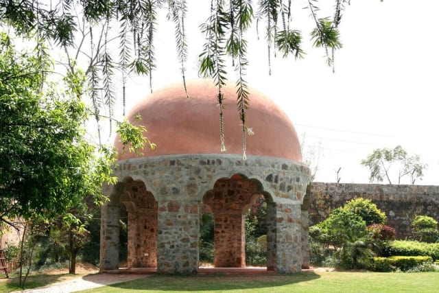 Grounds at Haveli Style Wedding Venue