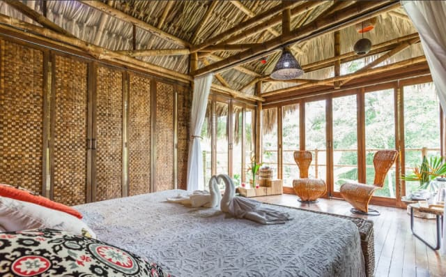 This picture shows the Romantic Cabana in Armenia, Colombia