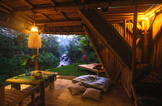 This picture shows Eco Bamboo Home in Bali