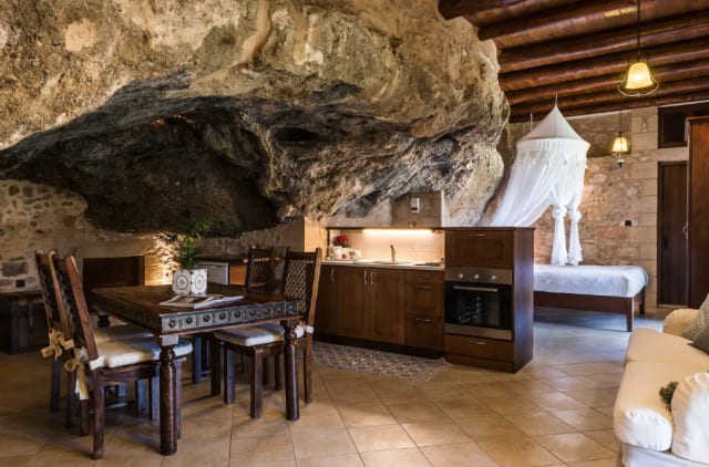 This picture shows Luxurious Stone Villa in Chania, Greece