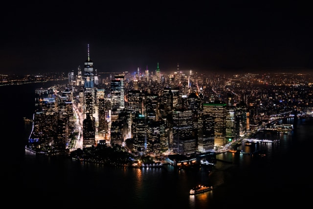 This image shows a picture of New York City