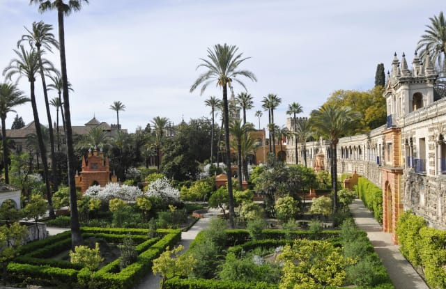Alcazar in Seville, Spain serves as the set for Dorne and the Water Gardens