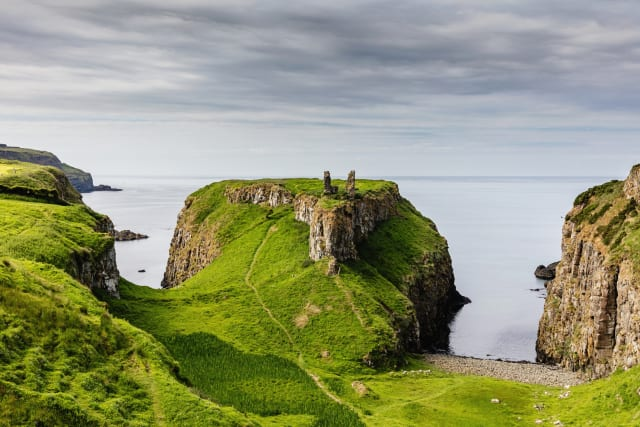 Several locations in County Antrim were used in filming Game of Thrones