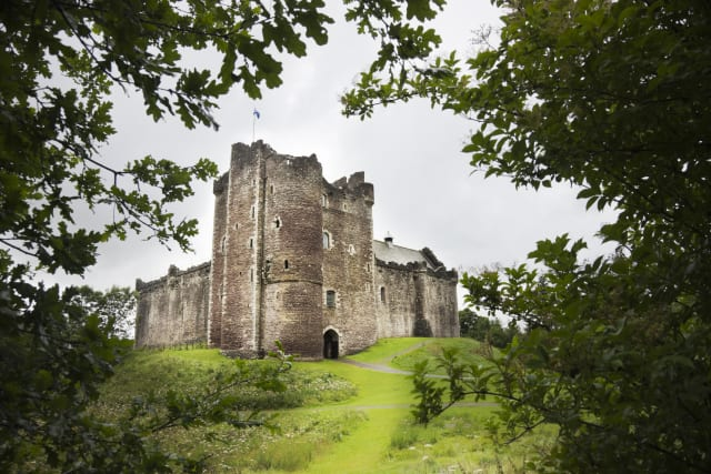 Doune Castle in Stirling, Scotland was the Game of Thrones filming location for Winterfell