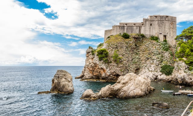 Dubrovnik is the location set for King's Landing from Game of Thrones