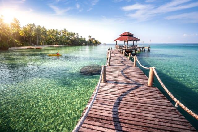 Beach in Koh Kood, Thailand