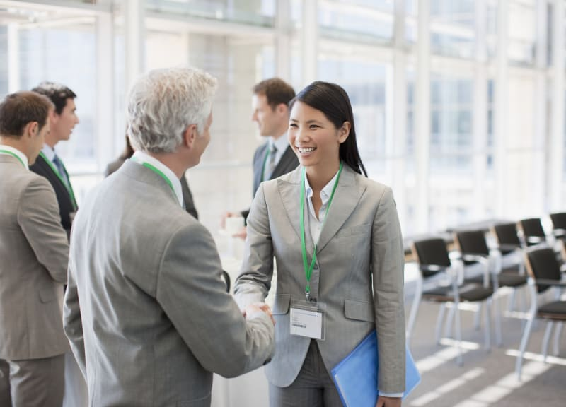 Networking is key to success in the workplace