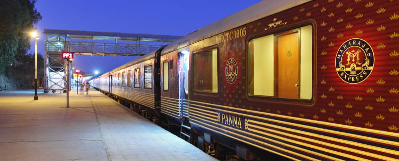 Maharaja's Express train ride in India