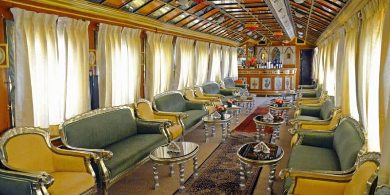 Palace On Wheels train ride in India