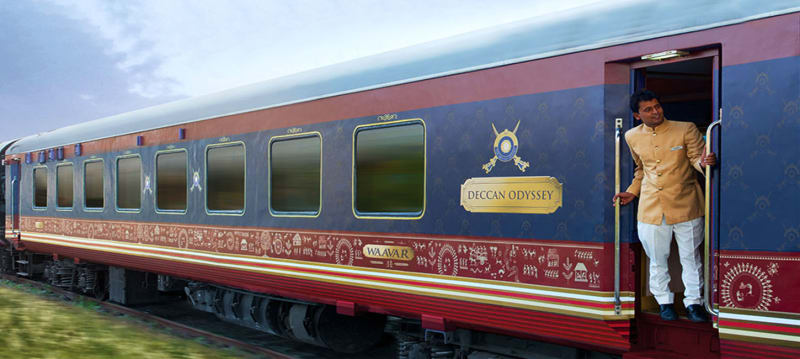 Deccan Odyssey train ride in India