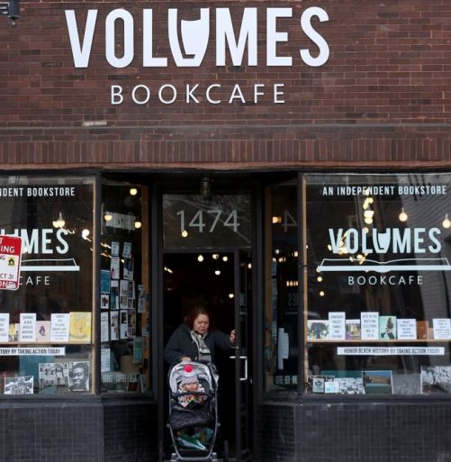 Volumes BookCafe banner