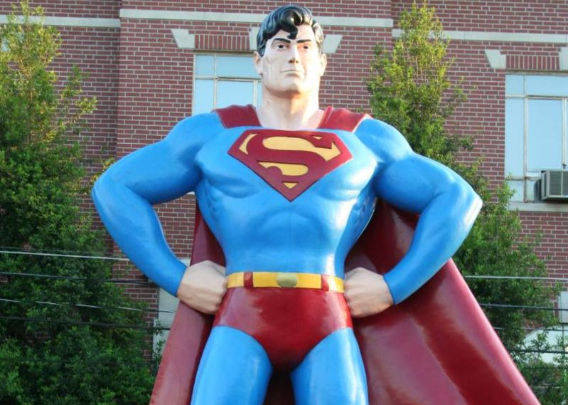 Metropolis, IL - #SuperSelfie places to visit