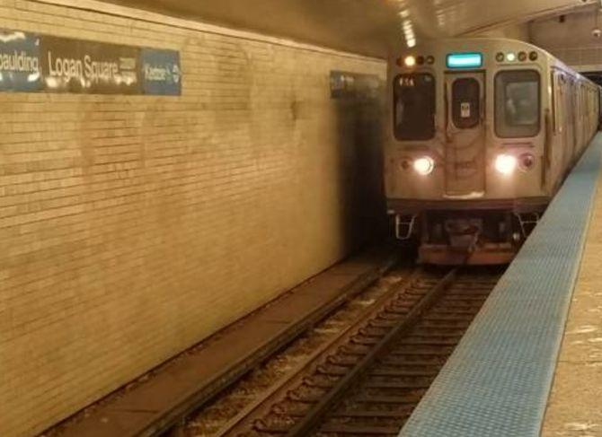 Logan Square Blue Line