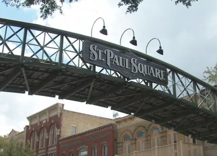 Explore Historic St. Paul Square banner