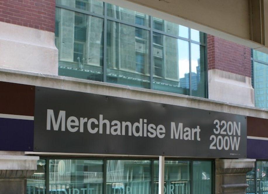 Merchandise Mart Brown Line