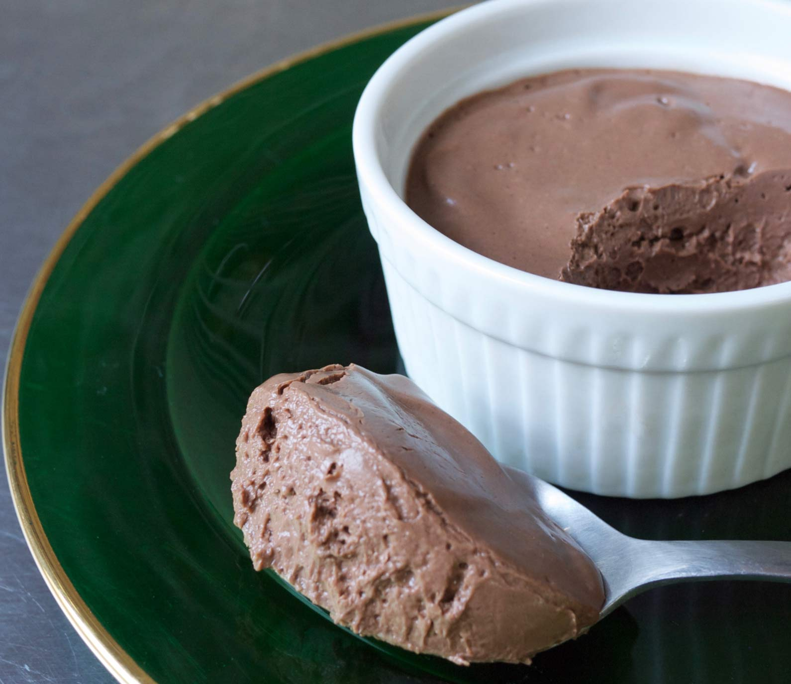 Mexican Chocolate Tofu Pudding