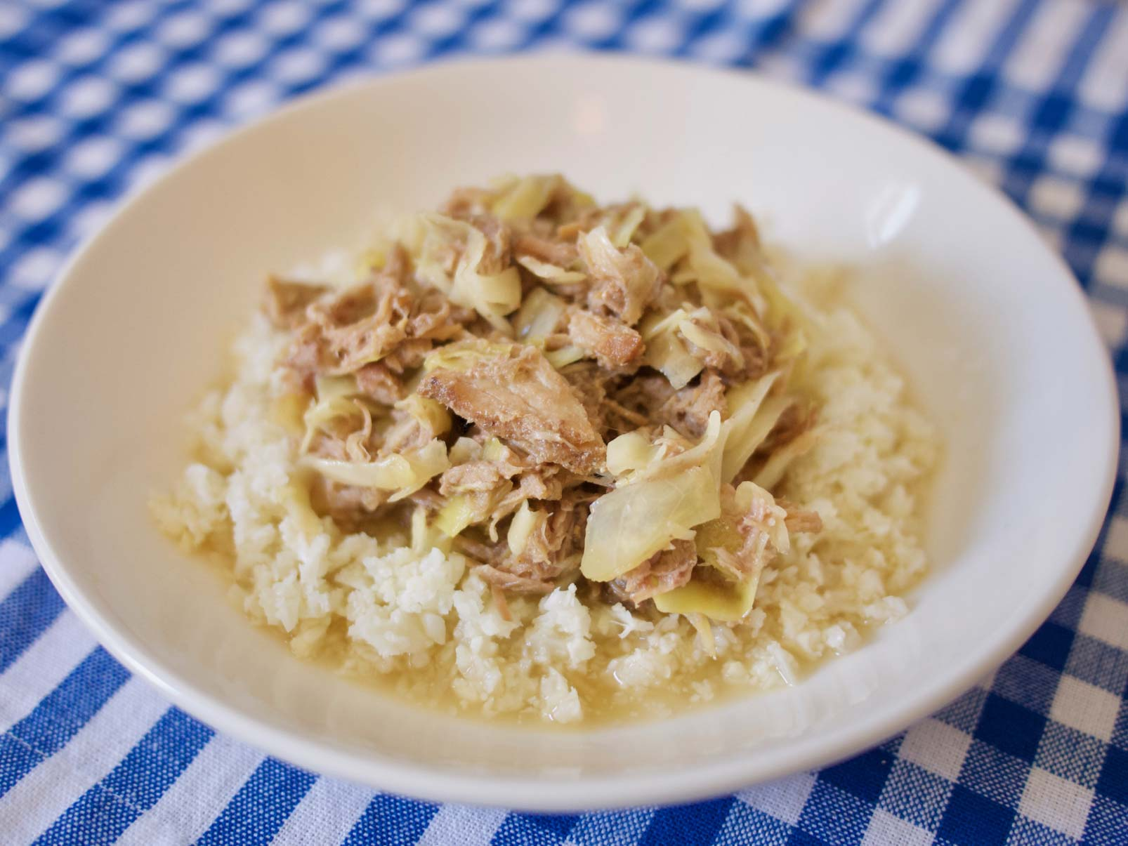 Smoky Hawaiian Slow-Cooker Pork with Cabbage