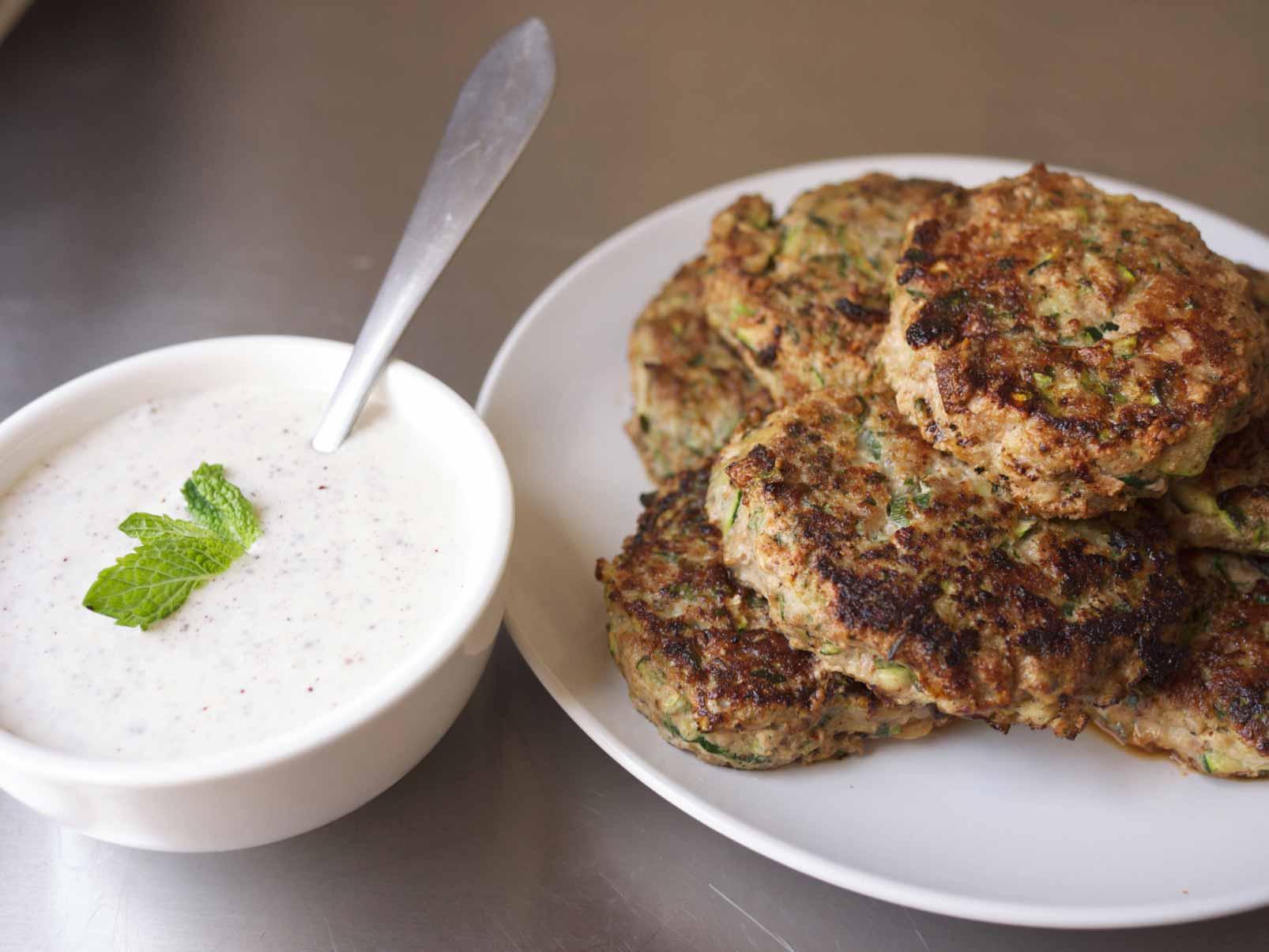 Turkey-Zucchini Burgers
