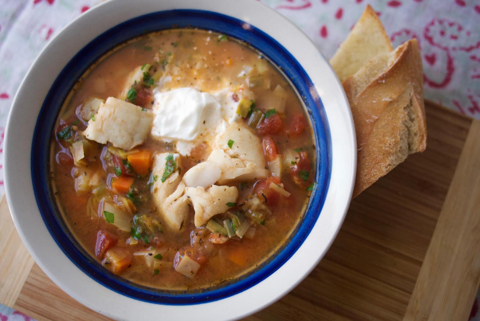 Provençal Fish Stew