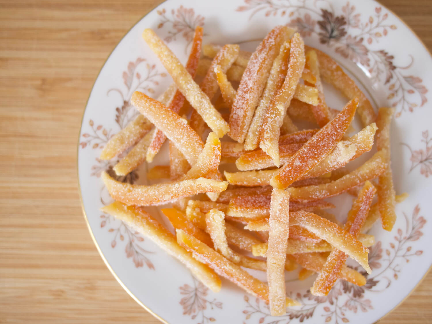 Spiced Candied Orange Peels