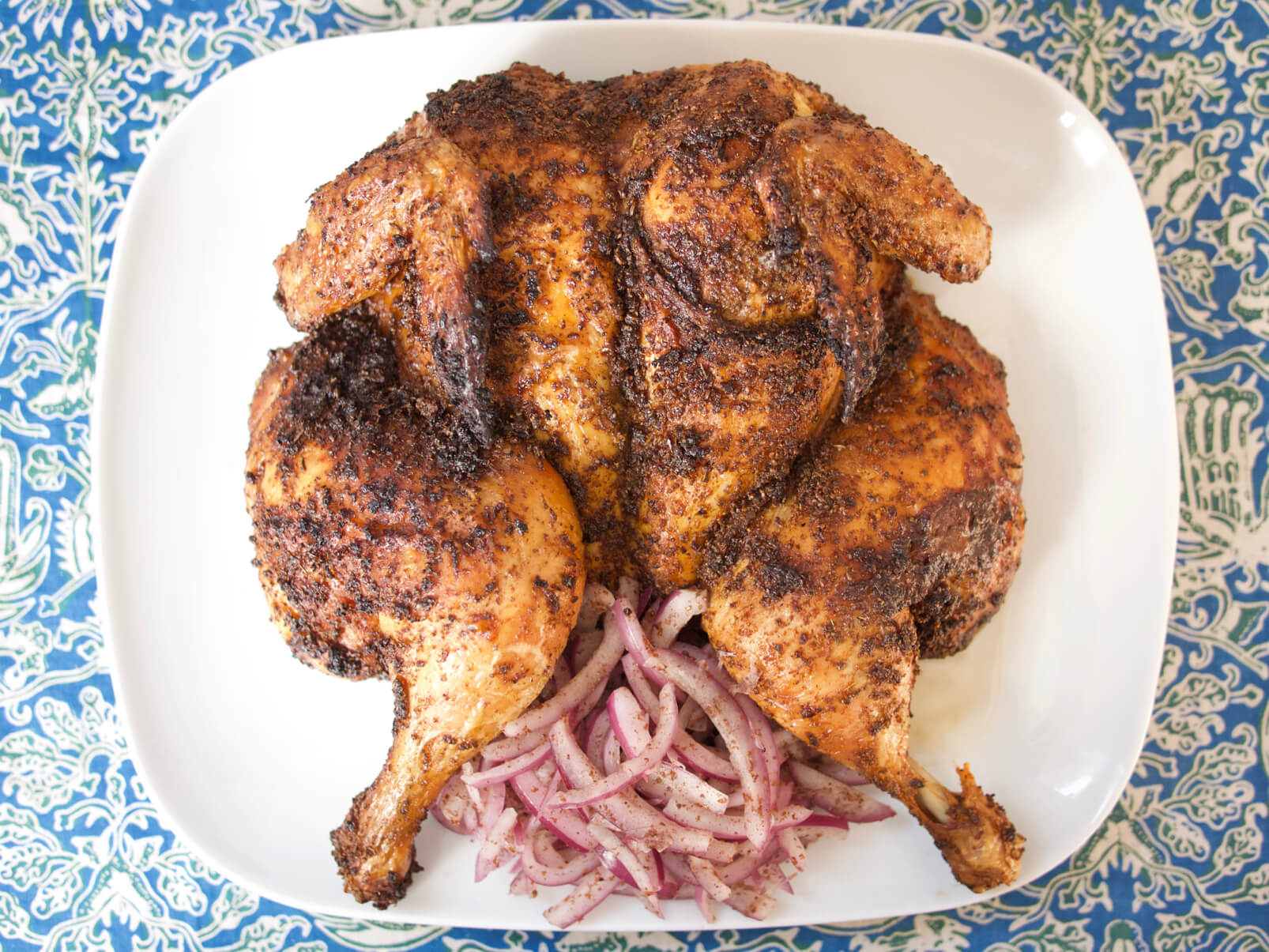 Harissa Roasted Chicken
