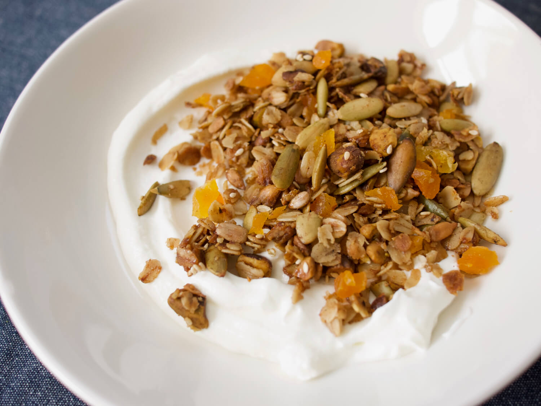 Apricot Cardamom Pistachio Granola