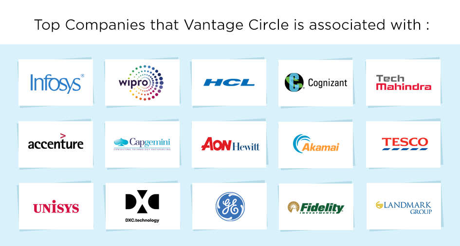 Companies associated with Vantage Circle