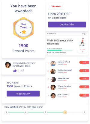 All in one Employee Engagement Software Platform