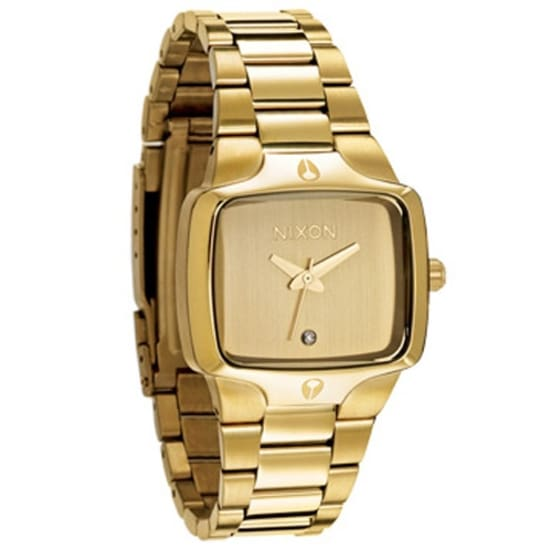 Nixon SMALL PLAYER UHR Armbanduhr Herren gold