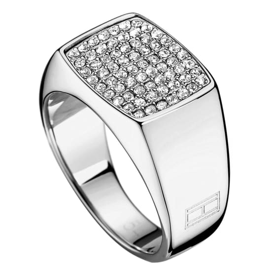 Tommy Hilfiger CLASSIC SIGNATURE- RING Damen silber