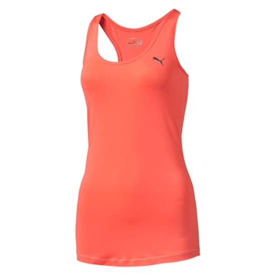 Puma WT Essential Layer Tank Débardeur de running Femme rose