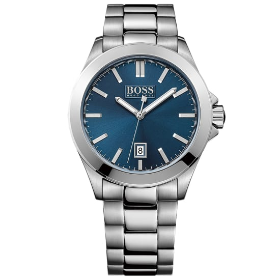 Boss ESSENTIAL Quarzuhr Herren blau