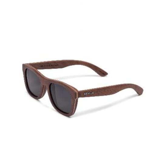 Wood Fellas SUNGLASSES STACHUS Sonnenbrille walnut-grey