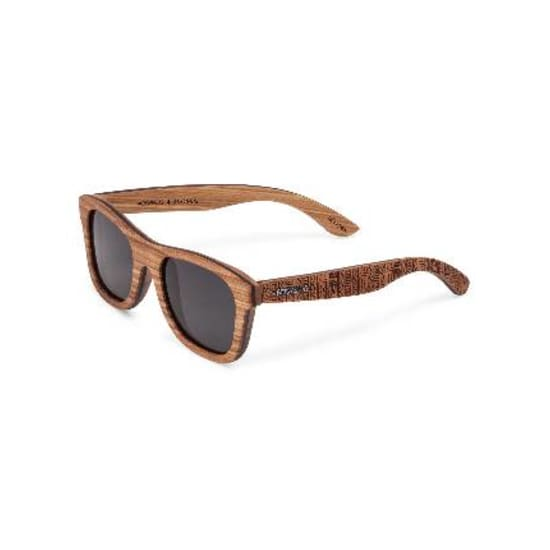 Wood Fellas SUNGLASSES STACHUS (SE) Sonnenbrille zebra-ethno