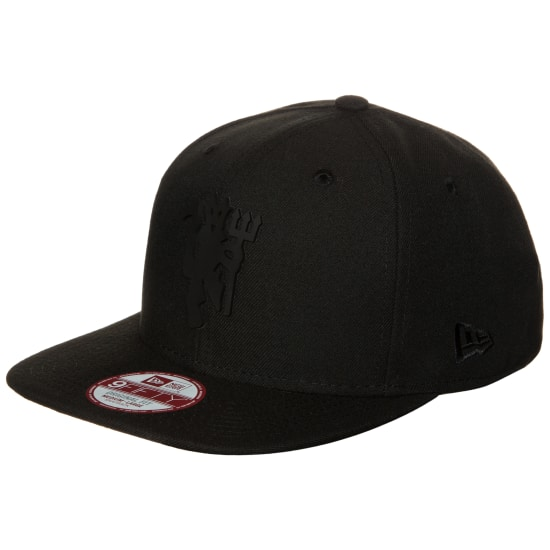 New Era 9FIFTY BLACK ON BLACK MANCHESTER UNITED SNAPBACK Cap schwarz