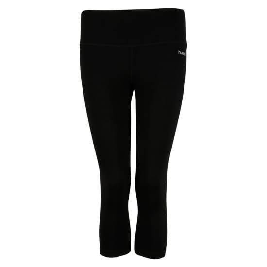 Hummel Tammy 3/4 Tights Pantalon running Femme noir
